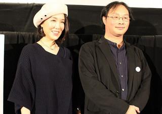 深田晃司監督と筒井真理子「淵に立つ」