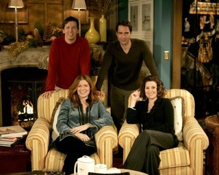 人気コメディシリーズ 「ふたりは友達?ウィル&グレイス」