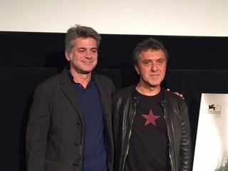 レハ・エルデム監督(右)と プロデューサーのオメル・アタイ「ビッグ・ビッグ・ワールド」