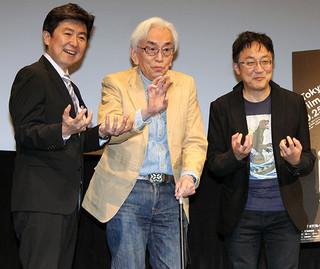 トークショーを盛り上げた 中野昭慶監督ら「ゴジラ」