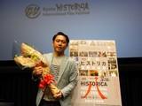 世界で活躍する俊英Yuki Saito監督、松雪泰子が2役演じた「古都」引っさげ京都に凱旋!