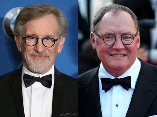 スティーブン・スピルバーグ監督とジョン・ラセター監督「スター・ウォーズ フォースの覚醒」