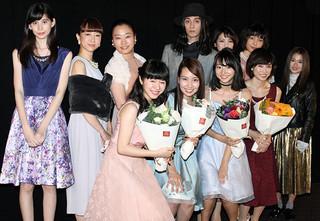 主演女優4人が勢ぞろい「TOKYO CITY GIRL 2016」