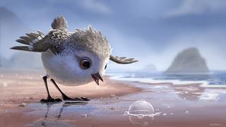 ピクサーの「ひな鳥の冒険」「ファインディング・ドリー」