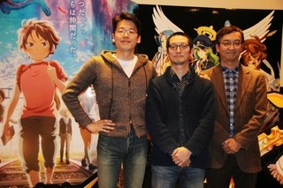 (左から)平澤直、岸本卓、氷川竜介氏「グーニーズ」
