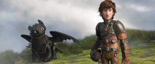 「ヒックとドラゴン2」の一場面「ヒックとドラゴン」