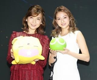 「AAA」の伊藤千晃と宇野実彩子