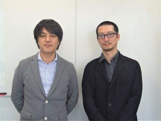 (左から)江崎慎平監督と岸本卓「グーニーズ」