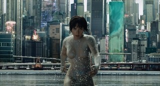 スカヨハ&たけしは今作の映像に自信「ゴースト・イン・ザ・シェル」