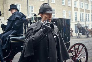 「SHERLOCK シャーロック 忌まわしき花嫁」の場面写真「シャーロック・ホームズ」