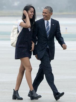 オバマ前アメリカ大統領と長女マリアさん「パルプ・フィクション」
