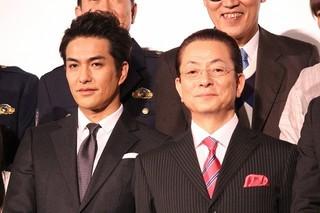 水谷豊(右)に憧れ続けてきた北村一輝「相棒 劇場版IV 首都クライシス 人質は50万人!特命係 最後の決断」