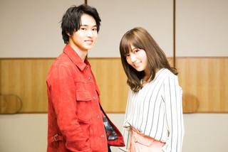 インタビューに応じた 川口春奈と山崎賢人「一週間フレンズ。」