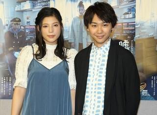 須賀健太と石井杏奈