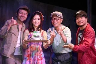 川島海荷の23歳の誕生日をお祝い