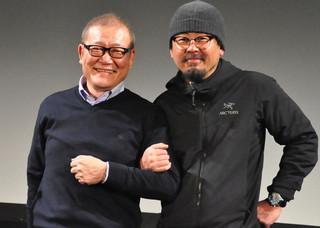 ナ・ホンジン監督(右)と國村隼「哭声 コクソン」