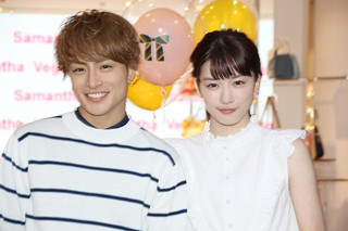 永野芽郁(右)と白濱亜嵐「ひるなかの流星」