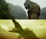 エヴァンゲリオンを意識?「キングコング」対怪獣バトルシーン映像公開!