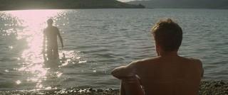 アラン・ギロディ監督 「湖の見知らぬ男」の一場面「湖の見知らぬ男」