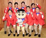「映画クレヨンしんちゃん」にテレ朝系列の人気アナウンサー出演 宇宙人アナウンサーズ結成