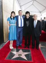 「パワーレンジャー」プロデューサー、ハリウッド殿堂入り!勝地涼&広瀬アリス刺激受ける