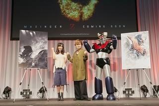 森久保祥太郎と茅野愛衣が声優として出演「マジンガーZ」