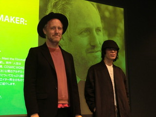 来日したマイク・ミルズ監督と前田征紀氏「20センチュリー・ウーマン」