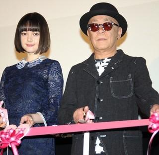 玉城ティナと廣木隆一監督「PとJK」