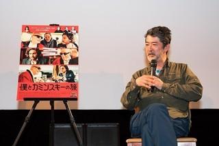 美術家の視点で映画の魅力を語った会田誠氏「僕とカミンスキーの旅」