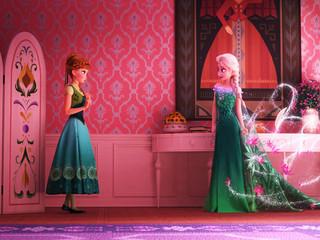 初期コンセプトが明らかに「アナと雪の女王」