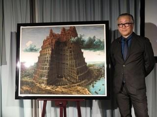 バベル塔の内側を描いた大友克洋氏
