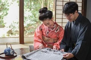 橋爪遼と篠原ともえが夫婦役で共演「漫画誕生」