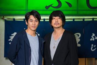 永山絢斗は売れない若手俳優役、大森南朋は本人役
