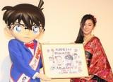 劇場版コナン最新作、観客動員500万人突破!倉木麻衣が生歌&直筆イラストで祝福