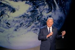 国連制定の世界環境デーに披露「不都合な真実」