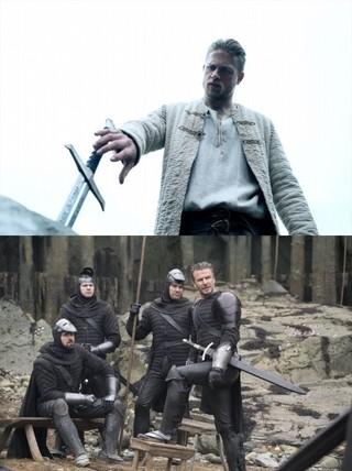 ベッカムが粗野な兵士役に挑戦「キング・アーサー」