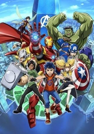 マーベルのヒーローが集結する日本製アニメ「アベンジャーズ」
