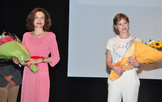 アンヌ・フォンテーヌ監督と ルー・ドゥ・ラージュ