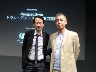 トラン・アン・ユン監督と橋口亮輔監督「エタニティ 永遠の花たちへ」