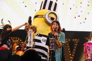 ライブ会場での発表にファン熱狂!