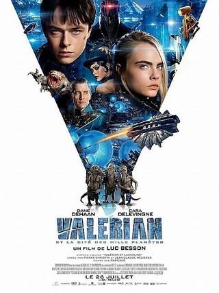 リュック・ベッソンの次回作「Valerian et la cite des mille planetes」ポスター「スター・ウォーズ」