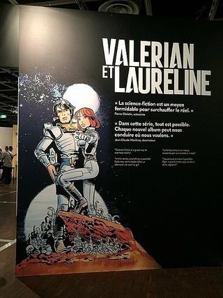 フランスの人気SFコミック「Valerian et Laureline」「スター・ウォーズ」