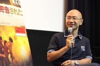 自身の取材体験を交えて作品を 語った作家の石井光太氏「ローサは密告された」