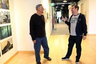 ブライアン・フィー監督(右)とプロデューサーのケビン・レハー氏「カーズ」
