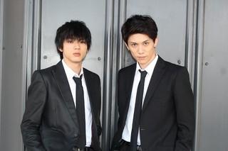 撮影の日々を語った山田裕貴(左)&青木玄徳「闇金ドッグス」