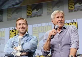 ハリソン・フォード(右)とコミコン 初参加のライアン・ゴズリング「ブレードランナー」