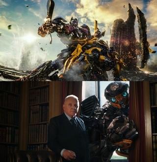 アンソニー・ホプキンスが 歴史の生き証人役を演じる「トランスフォーマー 最後の騎士王」