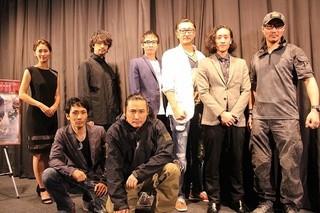 舞台挨拶に立った「TAK∴」こと 坂口拓、斎藤工ら「HiGH&LOW THE RED RAIN」