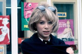 「ウイークエンド」(67)撮影中の ミレーユ・ダルクさん「ジェフ」