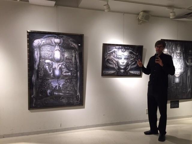 H・R・ギーガーのドキュメンタリー公開記念、渋谷タワレコでポスター&アート展 - 画像1